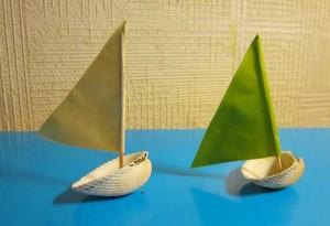 поделки кораблики