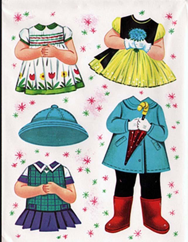 Домики для кукол бумажных